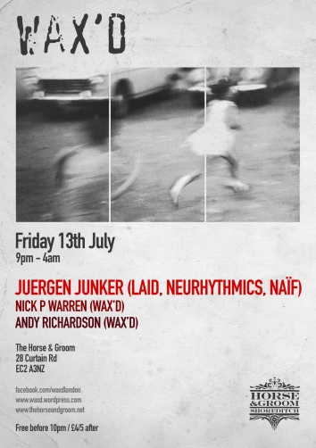 Wax'd presents: Juergen Junker